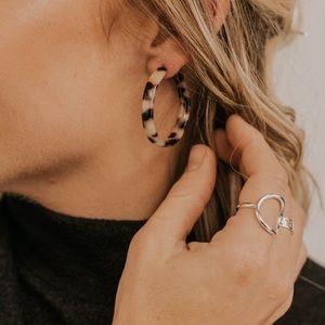 ROOLEE Paul Hoop Earrings- NWT